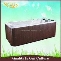 Hot sale acrylic massage tub 2 sets jet whirlpool bathtub