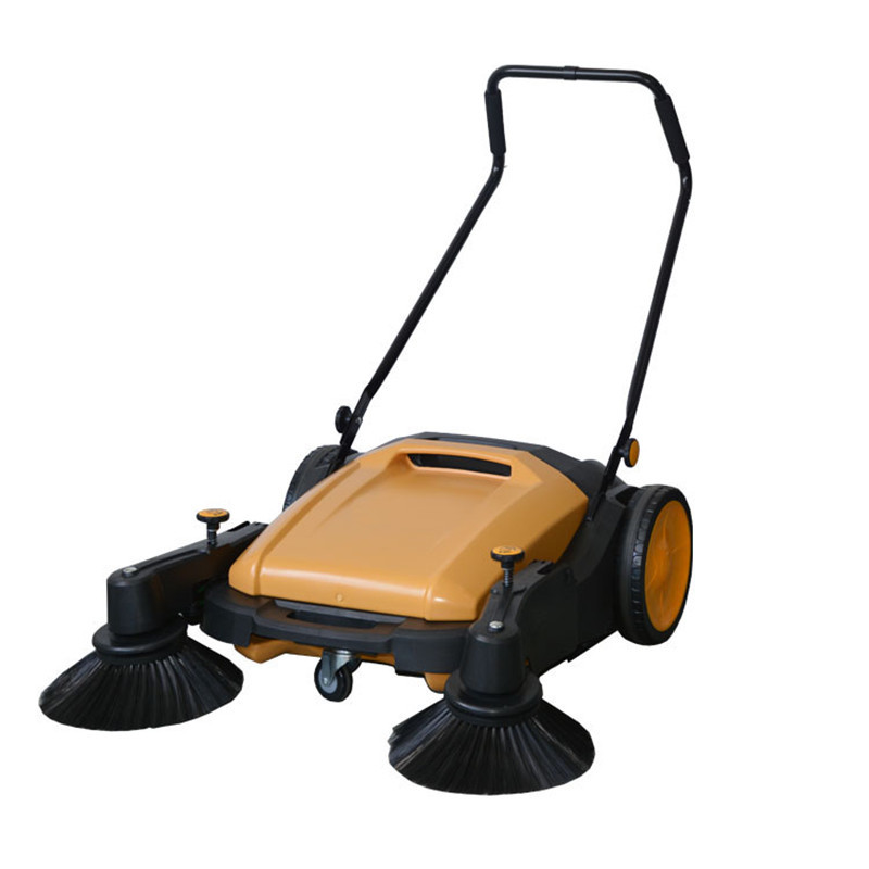 Manual Pavement Sweeper With CE Certificate