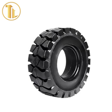 High quality natural rubber solideal tires for forklift