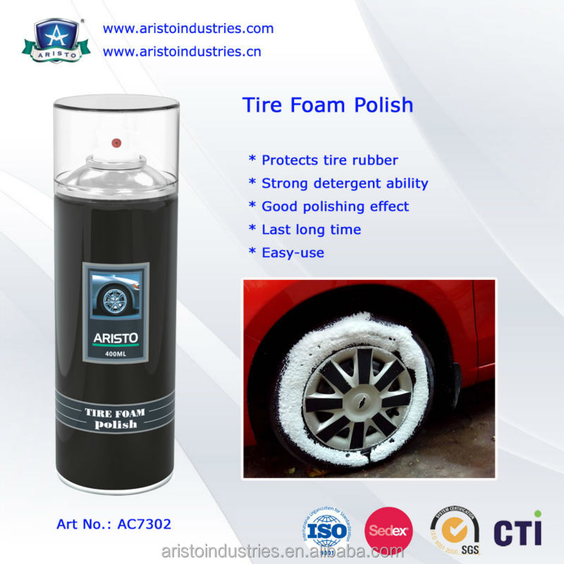 Aristo Tyre Polish / Tire Cleaner / Tire Foam Cleaner
