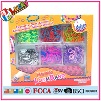 DIY silicon rubber band bracelets toy rubber band for girls