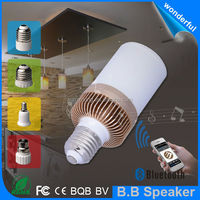 Christmas gift BB speaker led lamp with audio speaker