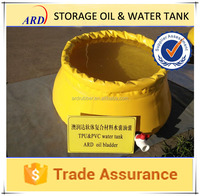 Used for storage application onion shape PVC water tank