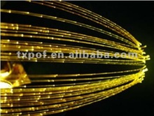 star twinkling point side glow plastic optical fiber and cable for lighting