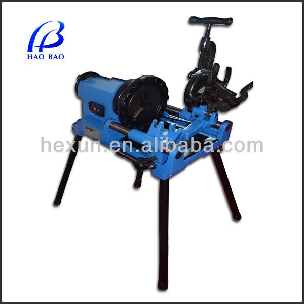 HT50E pipe thread cutter with threaded aluminum tube
