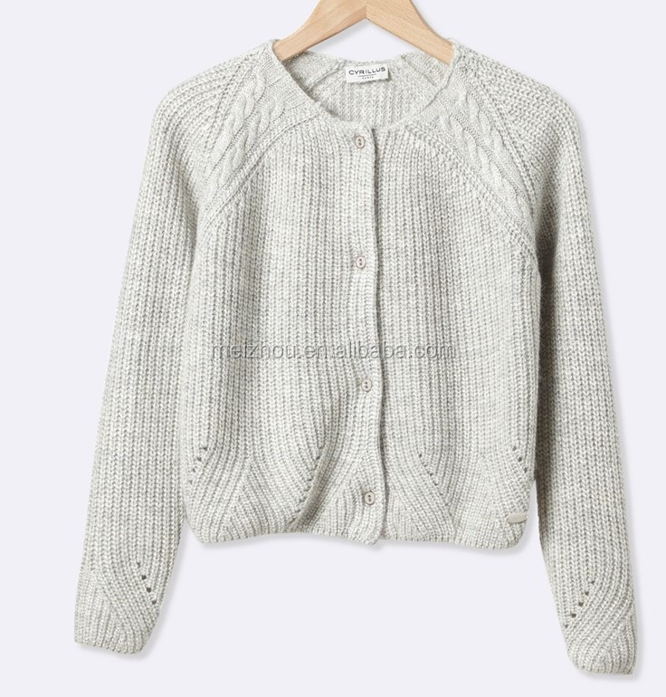 High Quality Winter Cardigan 2017 New Gesigns Kids Sweater For Girls (BKNB28)