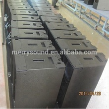 W8LM empty speaker cabinets, plastic speaker cabinet line array speakers