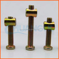Factory price furniture nuts and bolts in titanium bolts