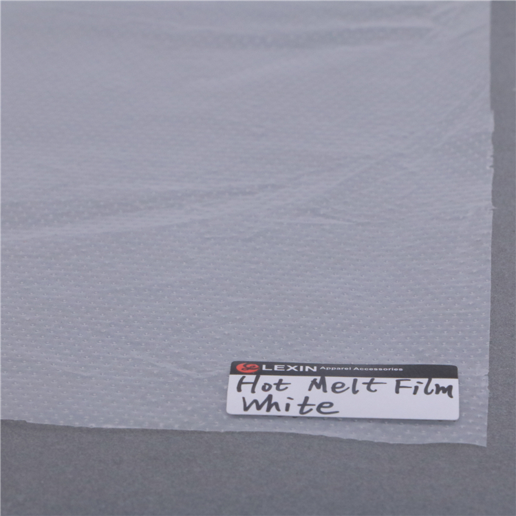 Adhesive PE Hot Melt Glue Film For Embroidery