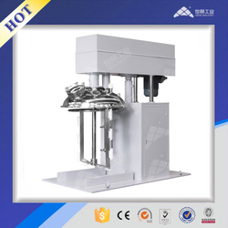 Industrial dual shaft multi-functional mixer for ceramic paste