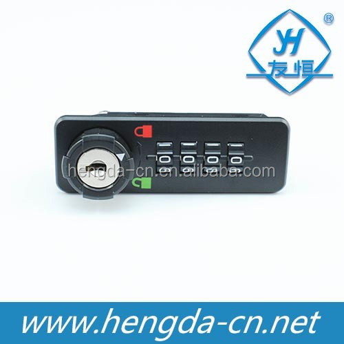 YH1204 4 Digital Cabinet Combination Lock For Wooden Cabinets And Steel Cabinets