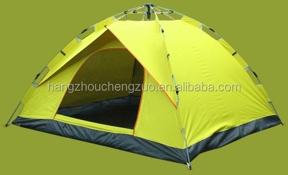Hot selling Automatic Hydraulic Spring Style Foldable 3-4 Person Waterproof Camping Tent,outdoor outdoor grow tent TXZ-001B