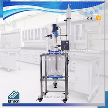 10L Double Layer Pilot Jacketed Glass Lined Reactor