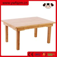high quality portable foldable bamboo laptop table