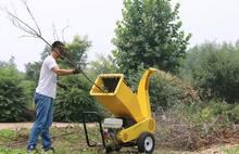 Alibaba Hot Sale wood chipper shredder/good price wood chipper machine- 6hp/15hp/22HP