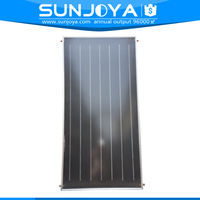 Alumium Alloy Copper Pipe Material Flat Panel Plate Solar Water Collector with CE+Rohs