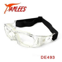 OEM Panlees wide angle RX lens accepted basketball safety dribbling aid glasses protective sports myopia eyewear football