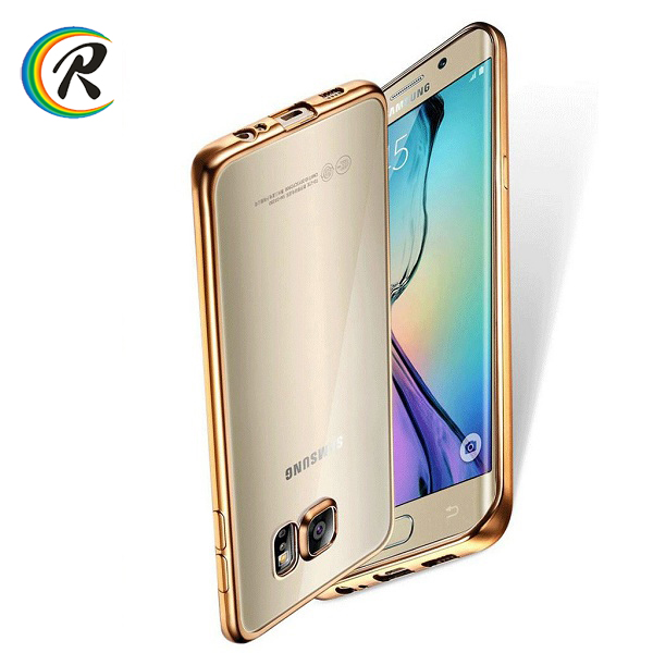 Bulk Factory price phone cover for gionee s6 for Samsung S7 Electroplated tpu crystal colourful cellphone cover shell