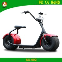 Green power lithium battery fat tire halley electric mobility scooter for sale