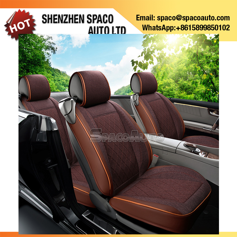 2017 Hot Selling Unique Design Leather Fur Car Seat Cover