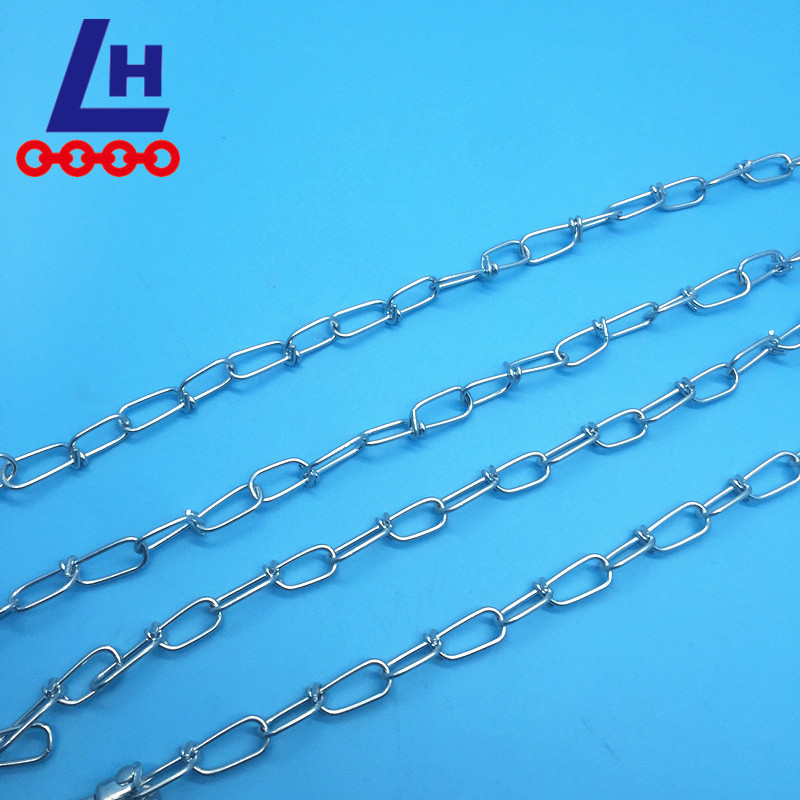 2.5mm DIN5686 Knotted Chain with Zinc Plated