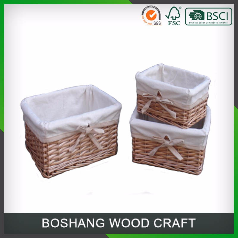 2016 Wholesale Wicker Gift Willow Baskets