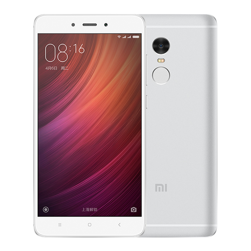 "Original Xiaomi Redmi Note 4 3GB RAM 64GB ROM Smart Phone MTK Helio X20 Deca Core 5.5"" FHD 4100mAh Fingerprint ID 13MP Camera"