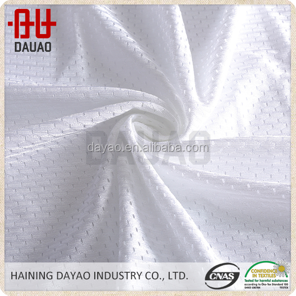 With green environmental and technological innovation polyester mesh fabric