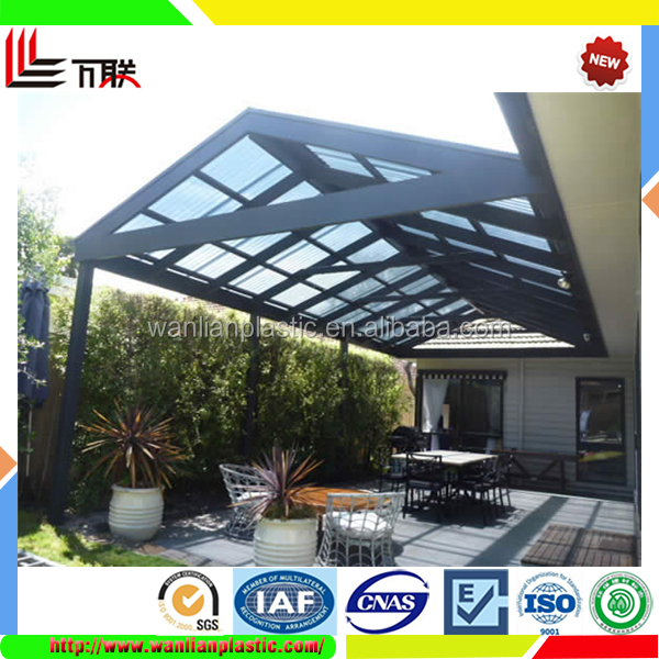 High quality clear plastic roofing panels for sale