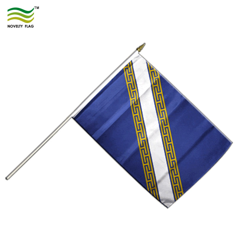 Wholesale France Champagne-Ardenne Hand Waving Flag