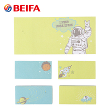 Beifa Brand SK0010 Online Wholesale Cute Cartoon Theme Sticky Notes With Animal Print
