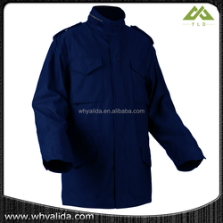 Dark blue colour alpha army warm jacket