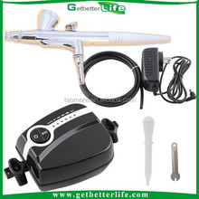 Getbetterlife CE Portable 5 Speed 21PSI <strong>Airbrush</strong> makeup Compressor Mini <strong>airbrush</strong> Compressor for Cake decorations