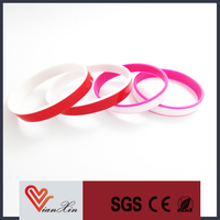 bulk cheap silicone bracelet/silicone wrist band for gifts/silicone arm band for promotional gifts