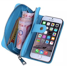 New product strap 2 in 1 detachable wallet mobile phone bag leather pouch phone case for iphone X 8 7 6 case