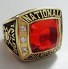 create national championship ring hockey championship ring with CZs