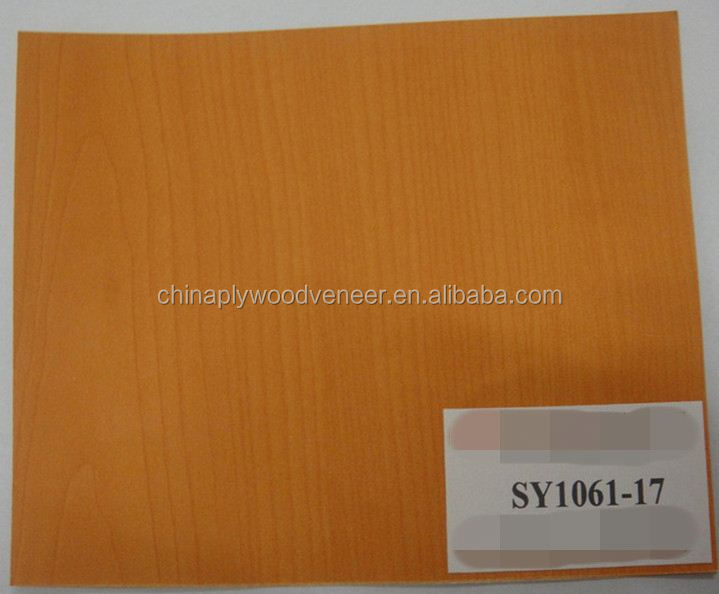 3.6mm Wood Color Melamine Face Plywood for Furniture