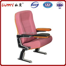 USA design ergonomic designed big back theater/theatre chair for commercial theater