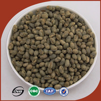 Hot Selling Chinese Yunnan Arabica Coffee Bean, Unroasted Coffee Beans, Raw Coffee