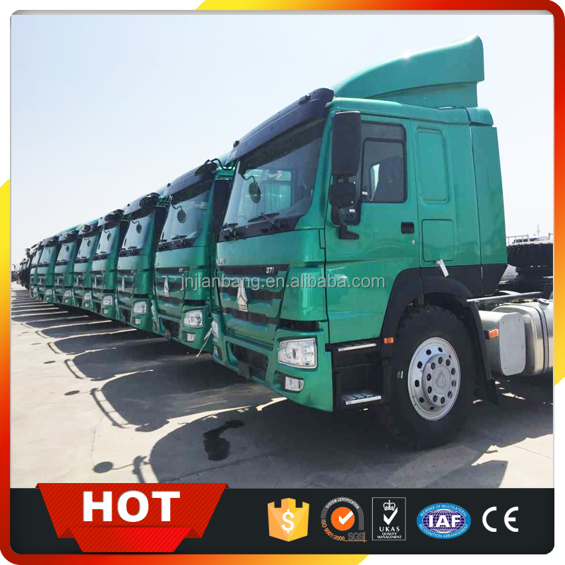 China truck and trailer manufacturer Sinotruk used Howo 6*4 tractor truck head