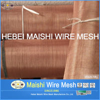 100% Pure brass wire mesh brass screen cloth
