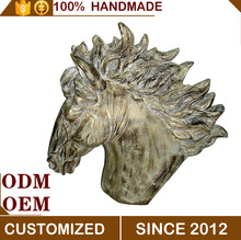 Antique Horse Head Wall Hanging Decoration