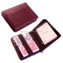 PU Leather Poker Set