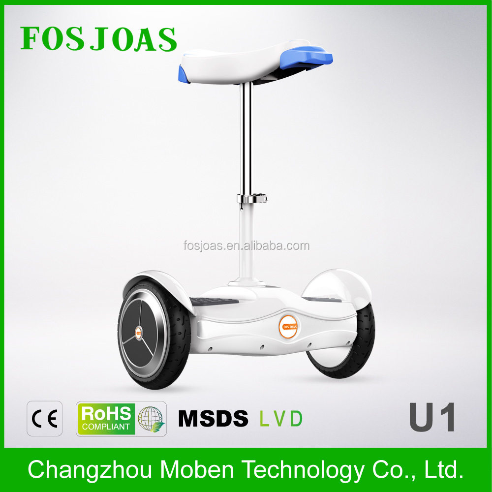 LATEST!!!Fosjoas <strong>U1</strong> Best Airwheel cheap 2 wheel hoverboard with samsung <strong>battery</strong> with seat With App