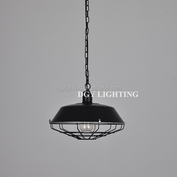 E27 Iron surface mounted modern industrial linear led pendant light