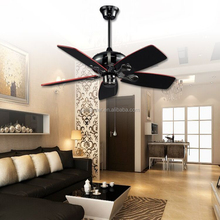 Remote Control Ceiling Fans Item Type Plywood ceiling fan light Modern