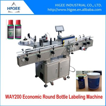 sticker applying machine