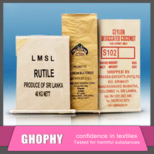 Custom kraft paper cement bags,kraft paper packing bag for cement printed
