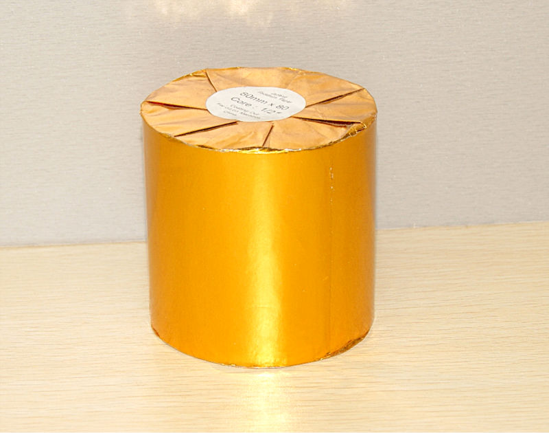 Golden Glossy Paper Packing Thermal Paper Rolls