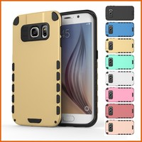 Factory rugged rubber case for samsung galaxy s6 edge wholesale